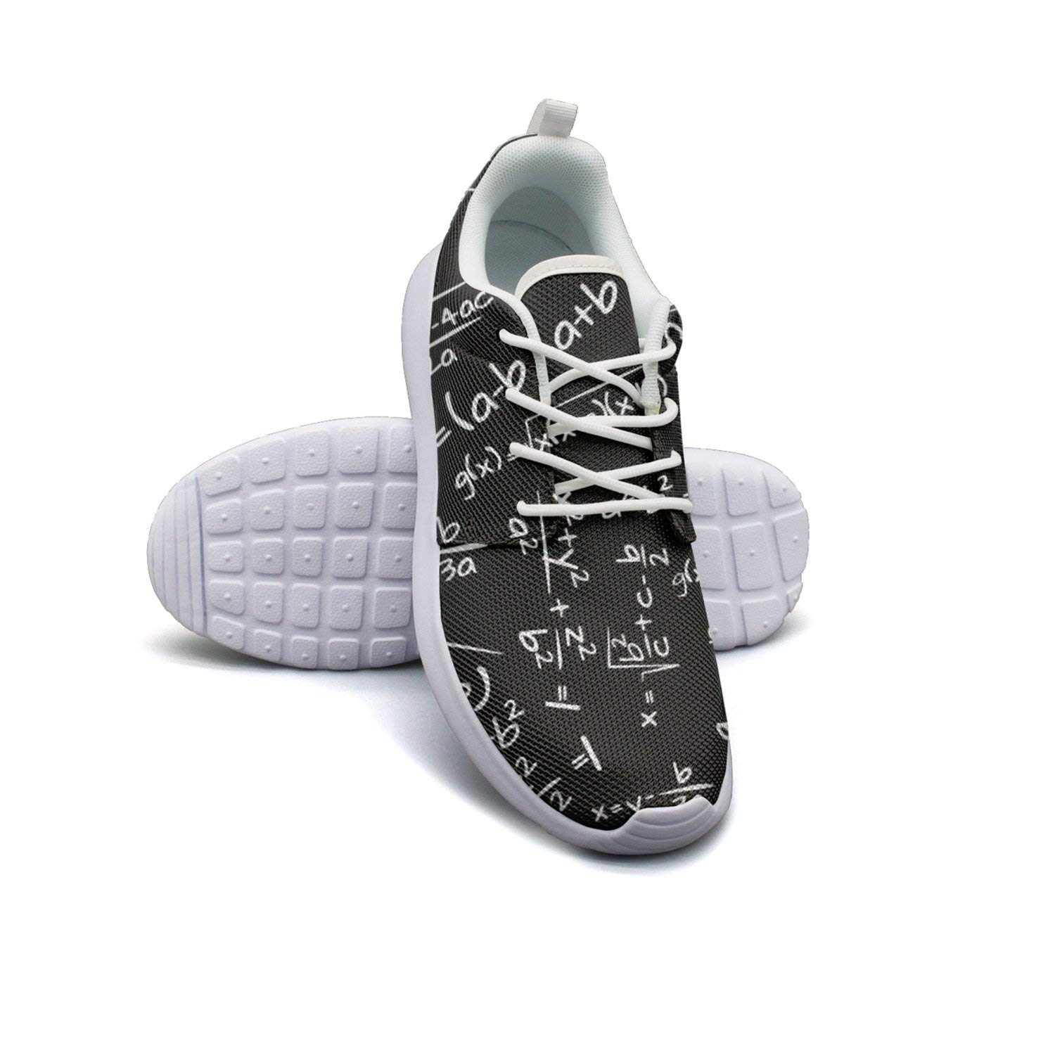 e2ff4af1c7295c Get Quotations · ERSER Math Formula All Weather Running Shoes Men Sports  Tennis Shoes