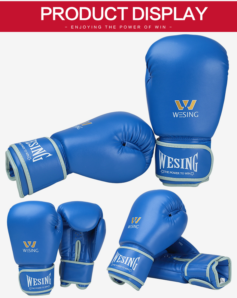 WESING custom boxing gloves leather boxing gloves wholesale boxing gloves 10-12oz