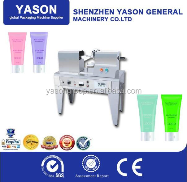 manual tube sealing machine, tube sealer, soft tube sealing machine
