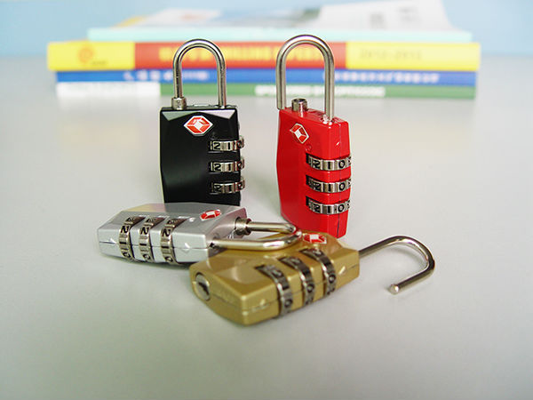 High Quality Luggage TSA Code Padlock for bag/locker/ Gym/