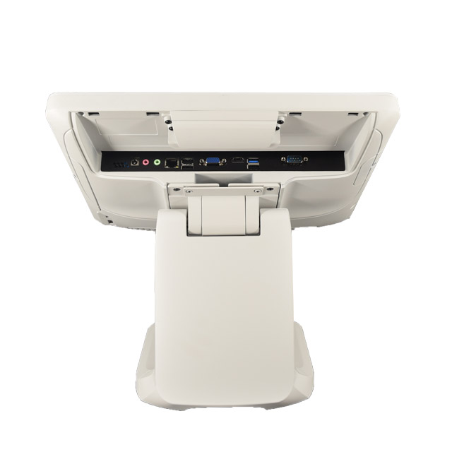 White Waterproof Aluminium Alloy Touch All In One Pos System For Restaurant