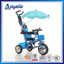 Best selling 3 wheel baby pedal car / baby tricycle with handle bar / three cycle child