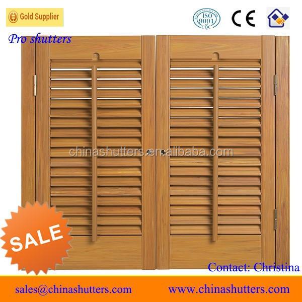 Interior wooden shutters custom wood shutters interior - Unfinished interior wood shutters ...