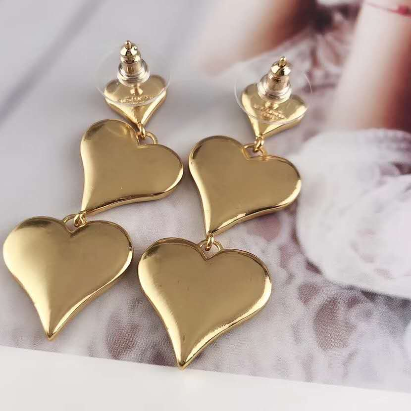 CM-Xinyee Wholesale earring for fashion women ,charm heart earring,gold earring фото