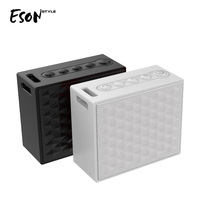 Eson Style TWS Valentine stereo couples portable mini 10W Bluetooth V4.2 waterproof IP67 outdoor Bluetooth wireless speakers