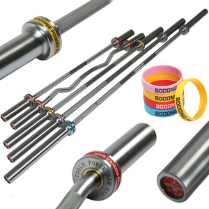 All Sizes best quality colorful weightlifting barbell bars Olympia bars fitness equipment for gym use