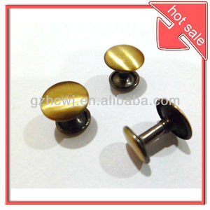 12mm clothing rivets,rivets for leather bags/belt/shoes.brass rivets