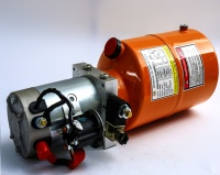 DC 24V Mini hydraulic power pack driven by electric motor for auto lift