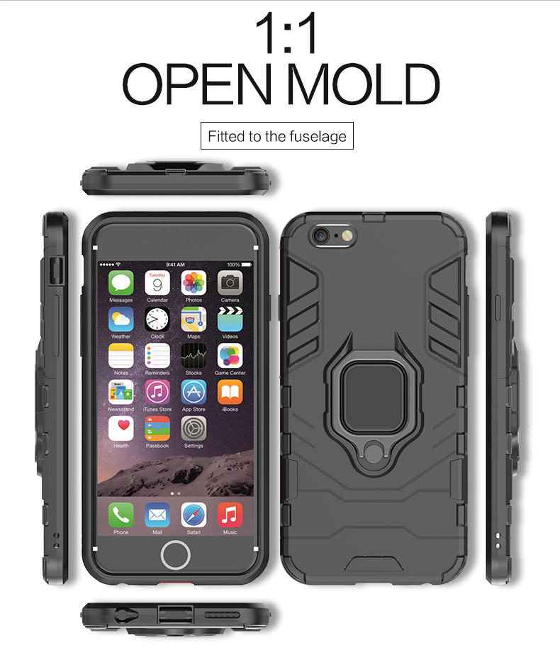 Mobile phone accessories cover tpu pc case for iphone 7, for iphone 7 case hybrid, for iphone 7 armor case