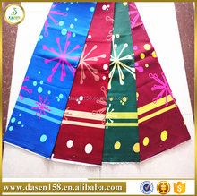 not fade colorful polyester fabrics for garment and home textile