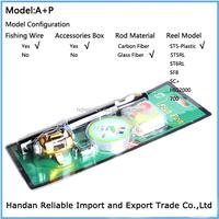 Mini Portable Pocket Pen Fishing Rod and Reel ,1M 1.4M 1.6M 1.8M length, Factory direct supply.