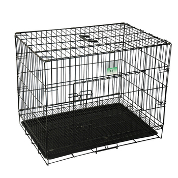 ABS plate comfortable outside folding dog cage