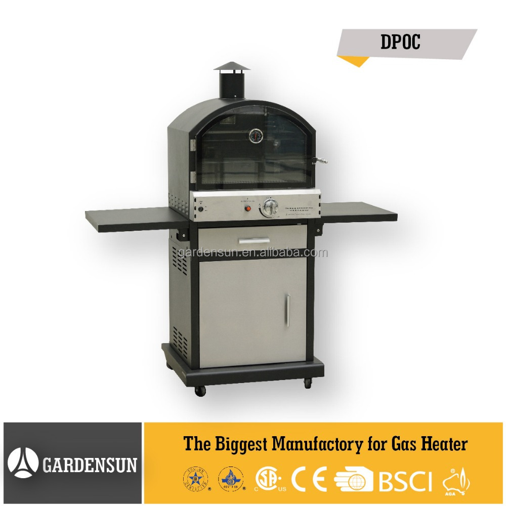 BBQ meat smoker grill (DPOC) GARDENSUN 16,000BTU with CE,CSA,AGA,ISO