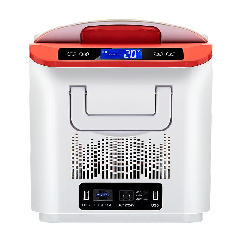 Usb Mini Réfrigérateur Congélateur 12 V Dc Compresseur Usb ...