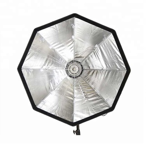 Mirror-symmetrical parabolic design softbox for photography