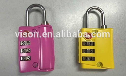 Travel Luggage Security Lock TSA Cable Lock TSA Combination Lock