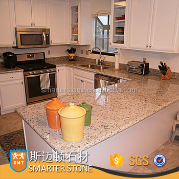 Smt White Rose Granite Kitchen Countertop