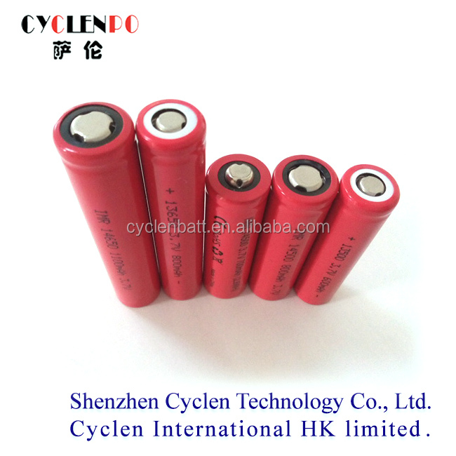 3.7v Imr13500 / 13650 / 14500 / 14650 Battery For Electronic ...
