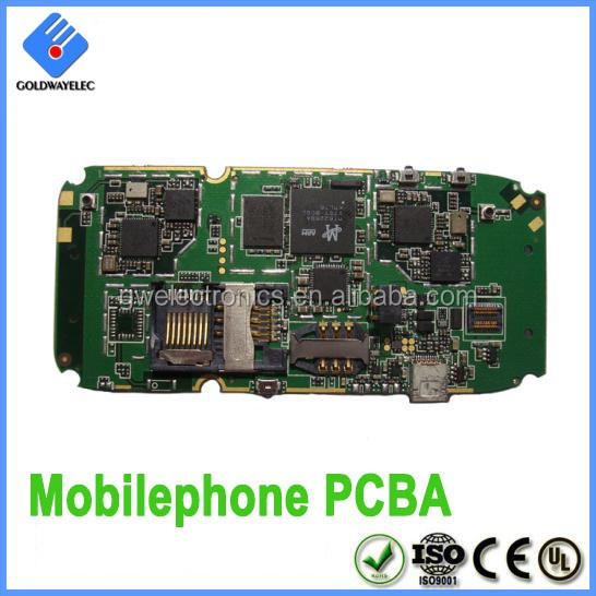 Supplies professional assembly service Diameter 0.25mm Spacing 0.1mm android phone pcb