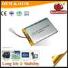 3.7V 5000mah 896474 lipo battery for bluetooth headset battery power bank