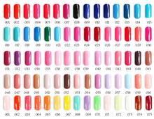 6pcs VEN Modern color UV LED lamp Gel Nail polish soaked off 15ml 233 colors for