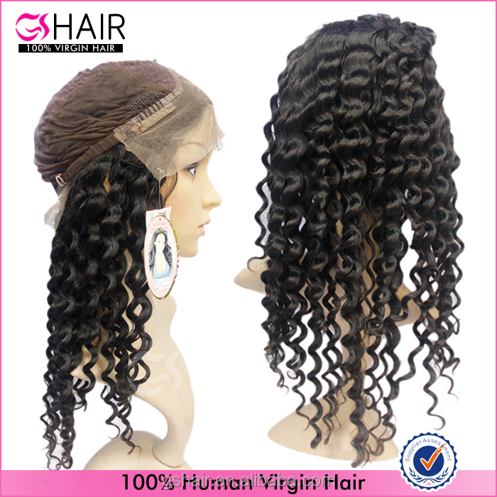2016 wholesale 100% brazilian long human hair half wigs
