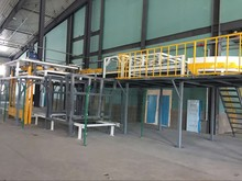 High efficiency automatic bag stacking machine