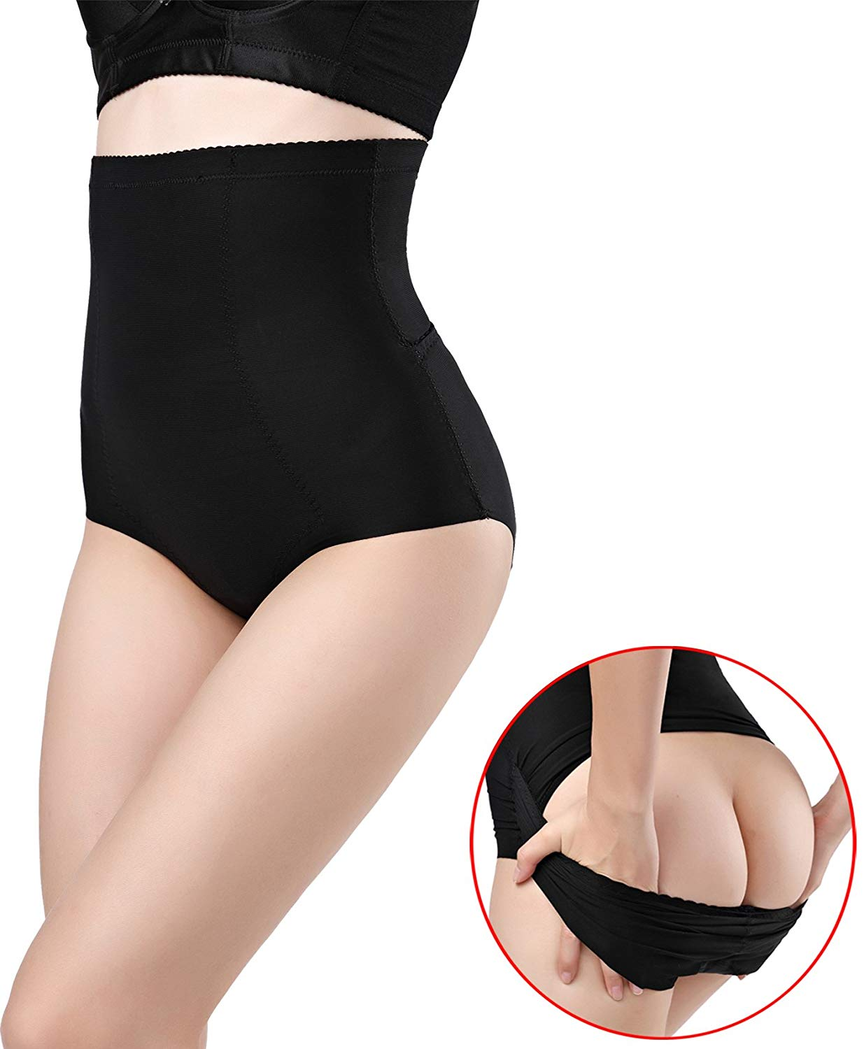 b78891e75db05 Get Quotations · DODOING Slimming Panty Postpartum Underwear Seamless Body  Belly Shaper Invisible Butt Lifter Tummy Control Panties High