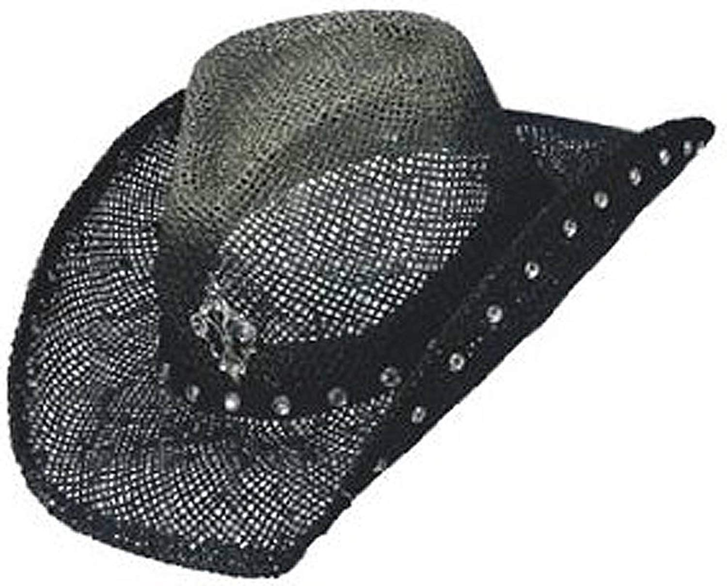 Peter Grimm Ltd Women s Country Jazz Fleur-De-Lis Straw Cowgirl Hat -  Pgd6095 a97e645945f