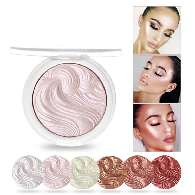 Private label kosmetik make-up keine logo highlight schimmer flüssigkeit highlighter