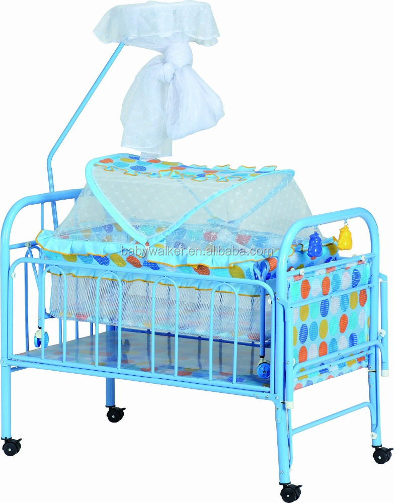 Hierro cuna, mosquiteros para bebés BM6522-Cunas para bebes ...
