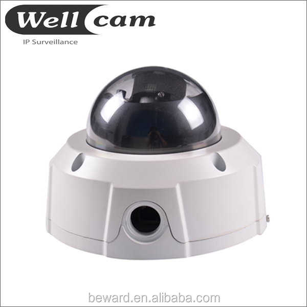 1080P indoor Fixed Plastic HISILICON HI3516 Full HD IP security camera dome cover