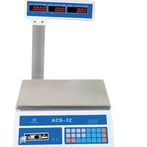 Low price factory prices in China 40kg digital meat price computing scale