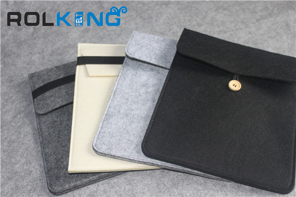 2014 natural fancy envelope design felt laptop bags