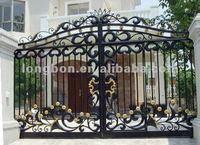 Top-selling modern residential steel double entry doors