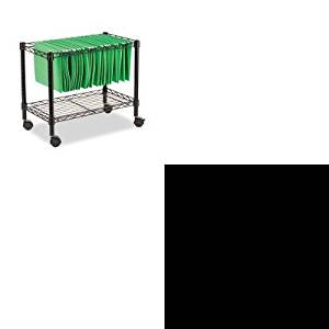 KITALEEL42ME10BALEFW601424BL - Value Kit - Best Single-Tier Rolling File Cart (ALEFW601424BL) and Best Elusion Series Mesh Mid-Back Multifunction Chair (ALEEL42ME10B)