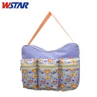2015 Multifunational Fashion Mommy/mom/baby Bags,Summer Style Diaper Bags With Compartments