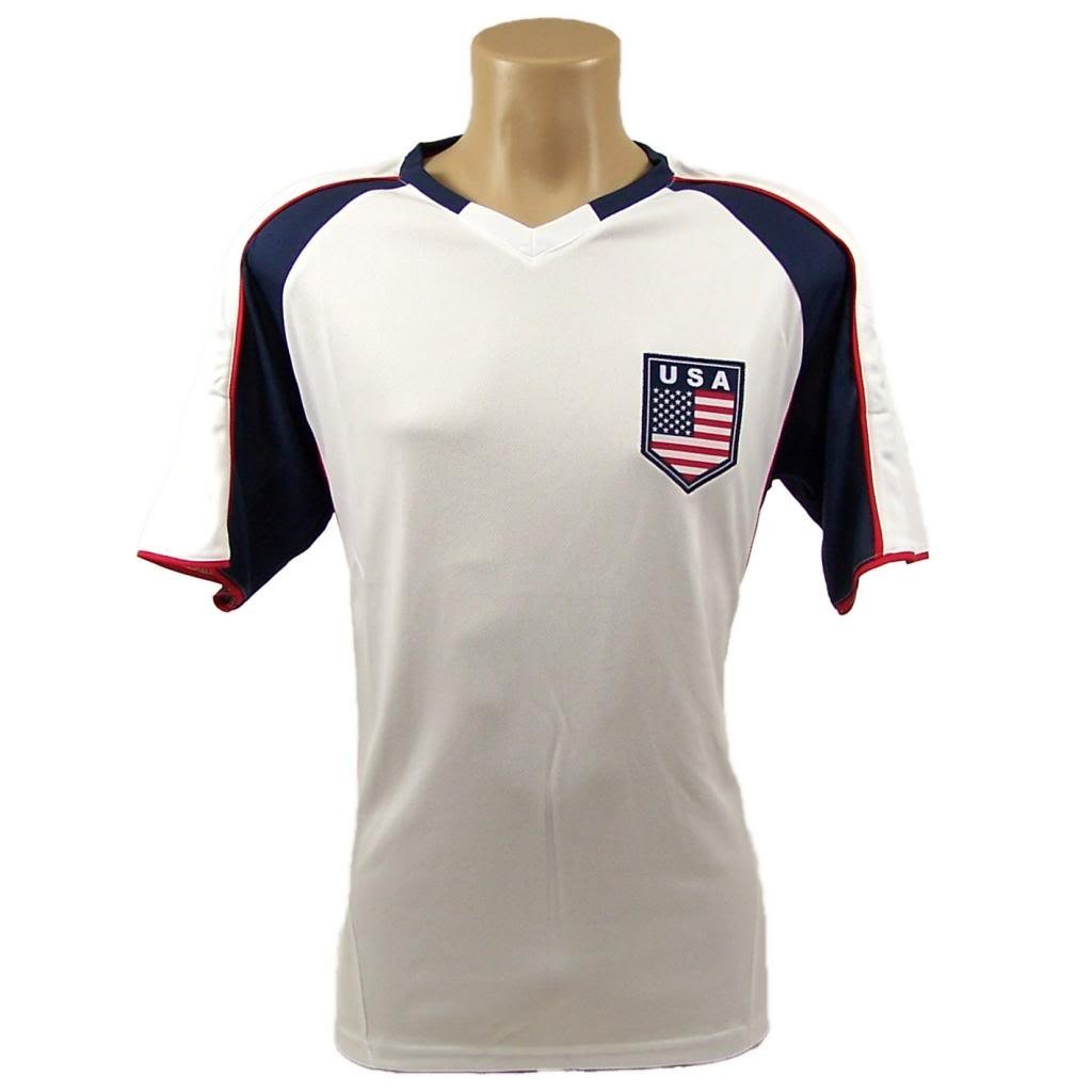 Team USA Soccer Official SOCCER Adult Large Jersey by Rhinox Group