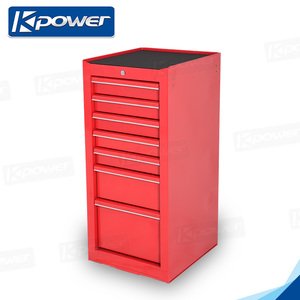 Custom Red Color Iron Truck Pickup Toolbox For Sale