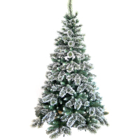 7ft musical fibre optic decoration snowing Christmas tree