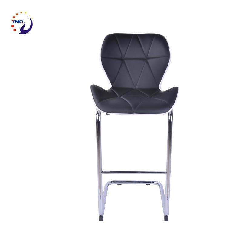 Producto de China muebles de la sala de cuero de alta acrílico mesa de bar silla moderna
