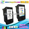 China hot selling top products remanufactured ink cartridge for canon PG510 CL511