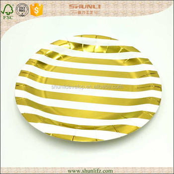 Good quality fancy paper plates for weddings  sc 1 st  Alibaba & Good Quality Fancy Paper Plates For Weddings - Buy Paper Plate ...