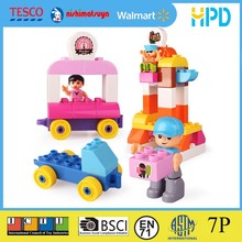 educational entertainment park theme building block toy in duplo size