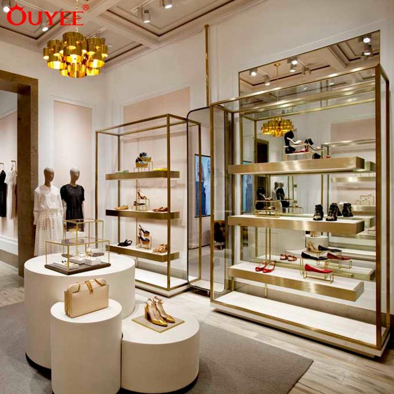 Modern Shoe Shop Furniture Boutique