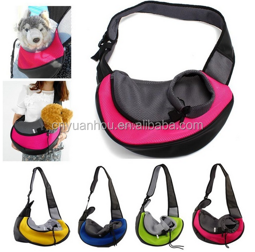 Front Carrier Mesh PET Travel Sling bag