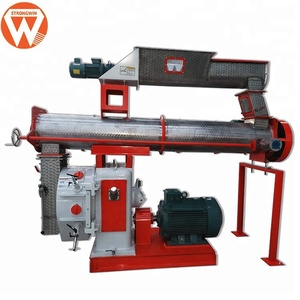 Henan Strongwin agricon feed pelleting machines for making broiler concentrate chicken feed
