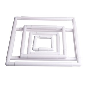 New Arrival Handhold Square Shape Embroidery Plastic Frame Hoop Cross Stitch Craft DIY Tool