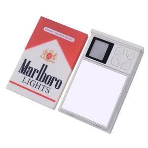 New arrival Mini Cigarette Case Style Scale Digital Pocket Scales Cigarette Pack Digital Jewelry Scale 100*0.01g