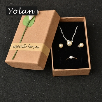 jewelry packaging box earring gift box paper jewelry box manufacturers Yiwu